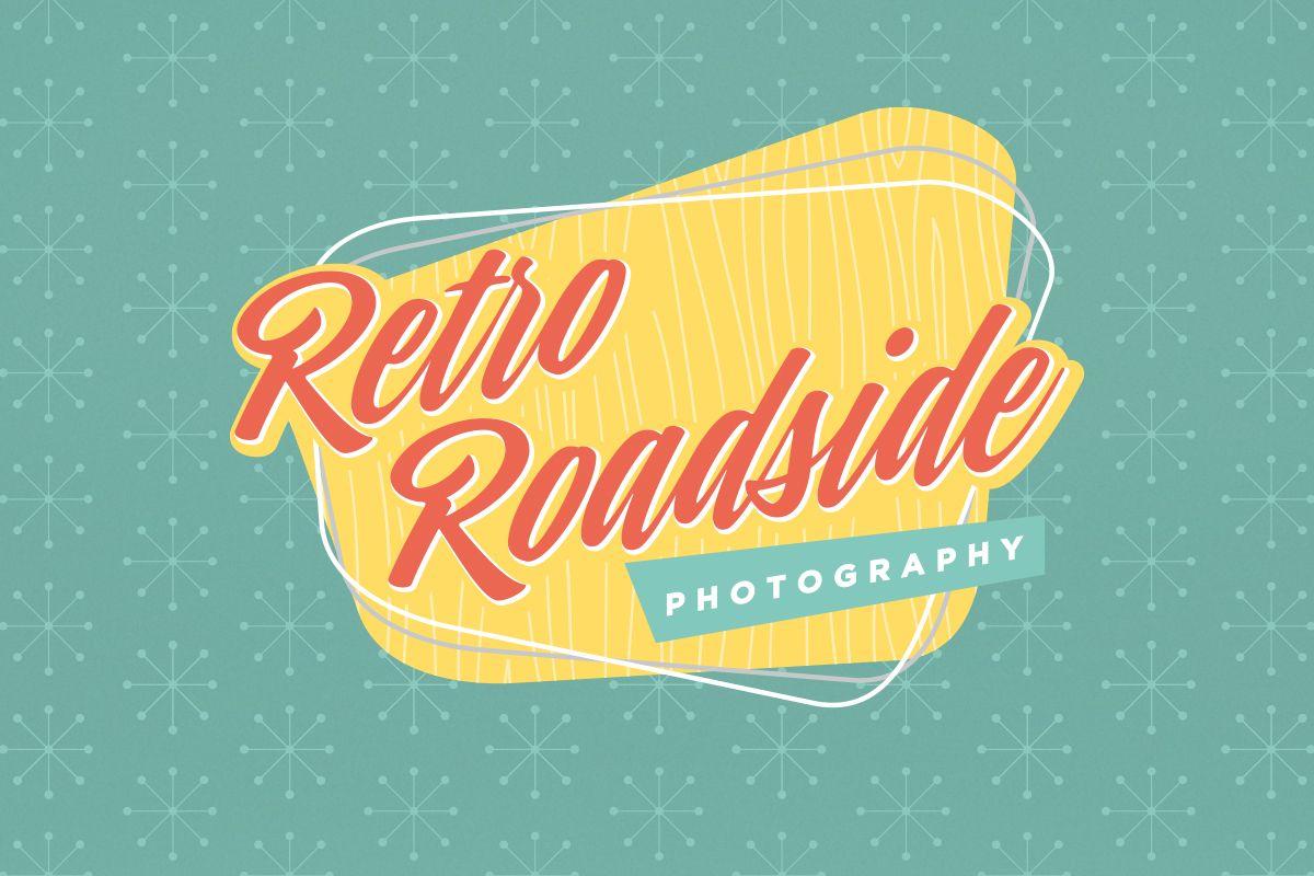 Retro Roadside Photography Sweet Southern Pixels Retro Modern Logo Design Retro Illustration
