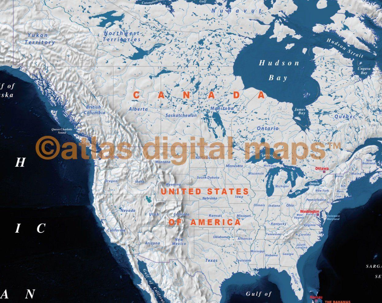 Personalized Push Pin Travel Map Push Pin World Map Blue DETAILED