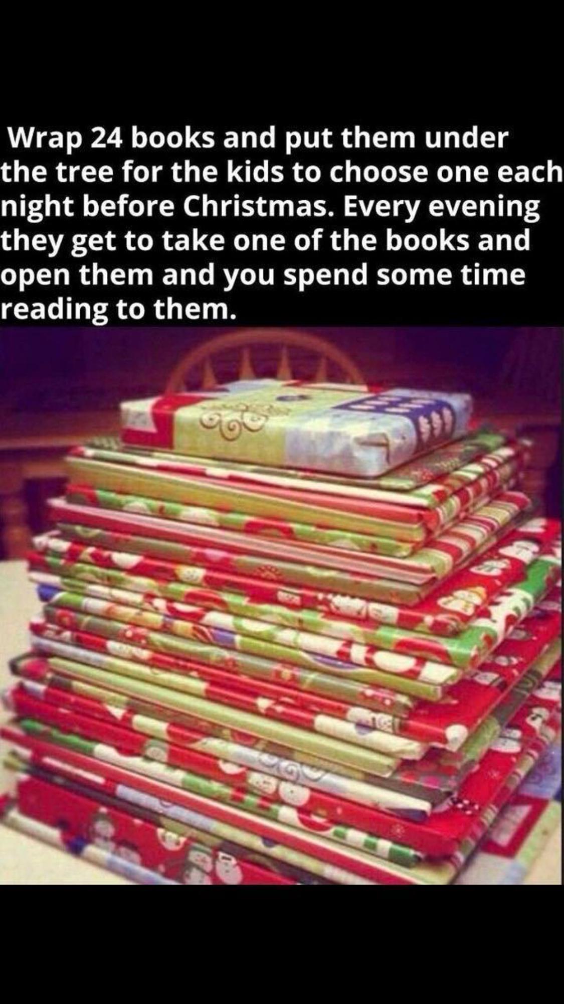 A book for each day of December X Mas Pinterest