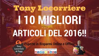 TONY LOCORRIERE: #220 - I 10 MIGLIORI ARTICOLI DEL 2016