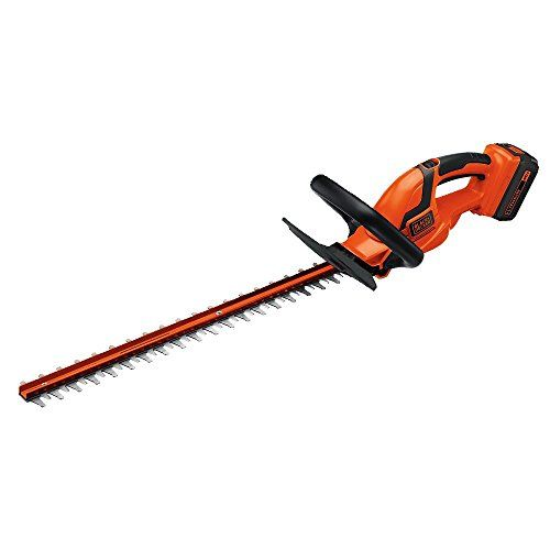 The Black Decker Lht2436 Hedge Trimmer Has A Powerful 40v Battery That Provides Plenty Of Power And Run Time And Can Cut Bra Its All About The Tools Best Hedge Trimmer