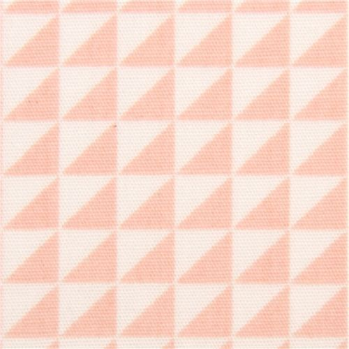 monaluna pale pink triangle fabric
