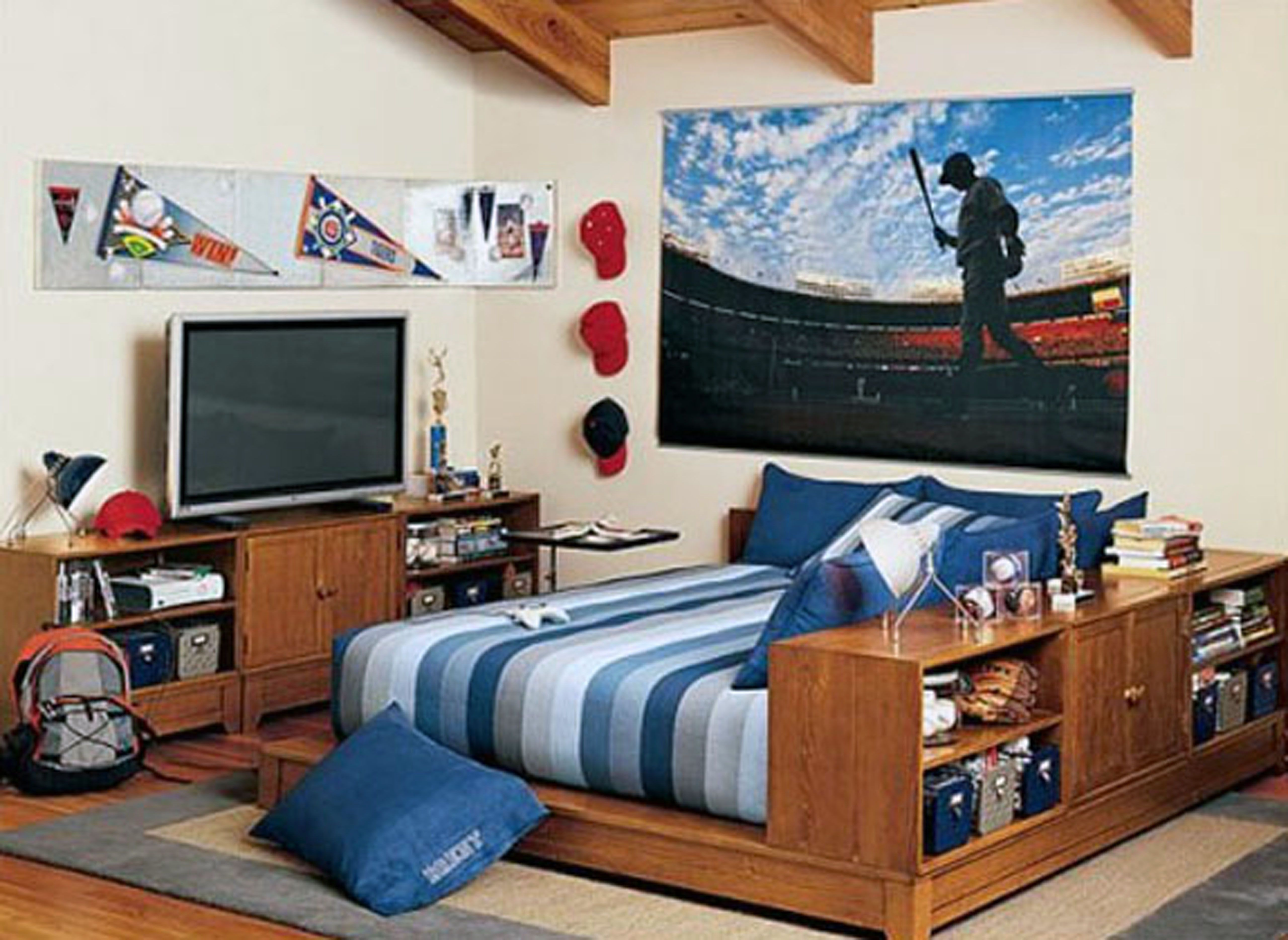 Pin on Bedroom ideas on Cool Bedroom Ideas For Teenage Guys With Small Rooms  id=20325