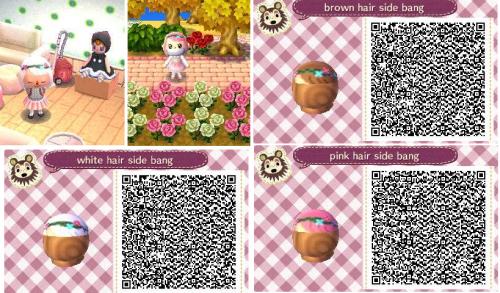 Happyacnl Hair Color Guide Animal Crossing Hair Hair Color