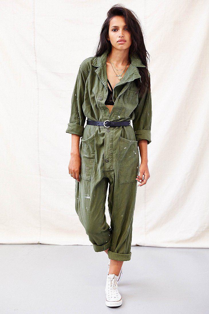 430b50c77e5 Urban Renewal Union Suit Jumpsuit - Urban Outfitters