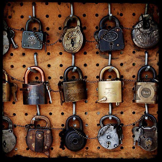 Lock Collection Photo By Robert Baker Vintage Keys Antique Keys Old Keys