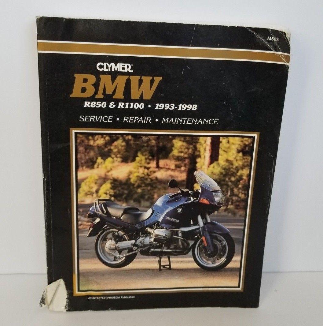 Clymer BMW R850 R1100 1993-1998 Service Repair Maintenance Manual