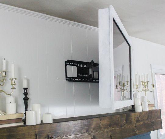 RYOBI NATION | Tv frames, Diy wall and Wall mount