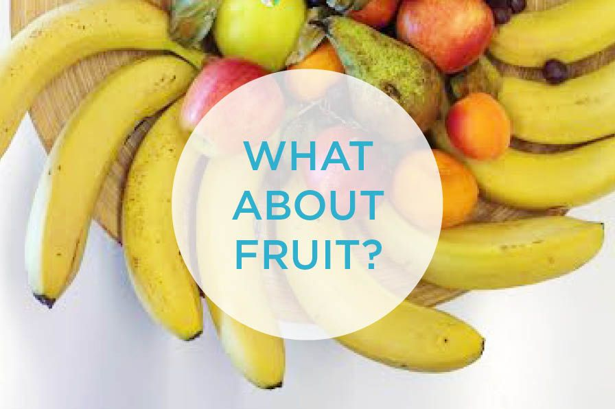 your nutrition questions what about fruit