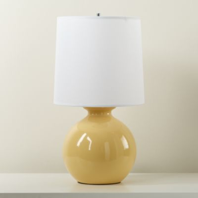 Pin By The Land Of Nod Design Servic On Nursery Furniture Lamp Table Lamp Yellow Lamp