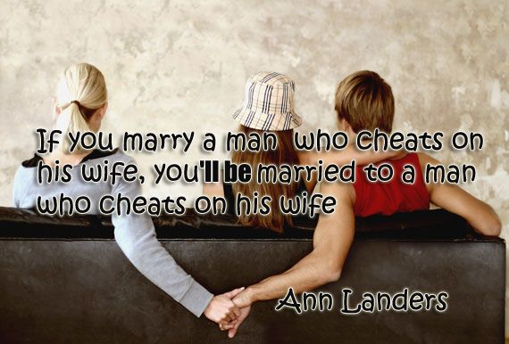 Cheats you a man wife on when his with Man's wife