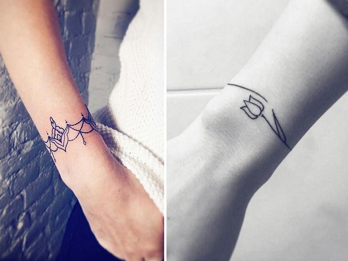 Tatuaże Na Nadgarstku Tatuaż Damski Najlepsze Tatuaże