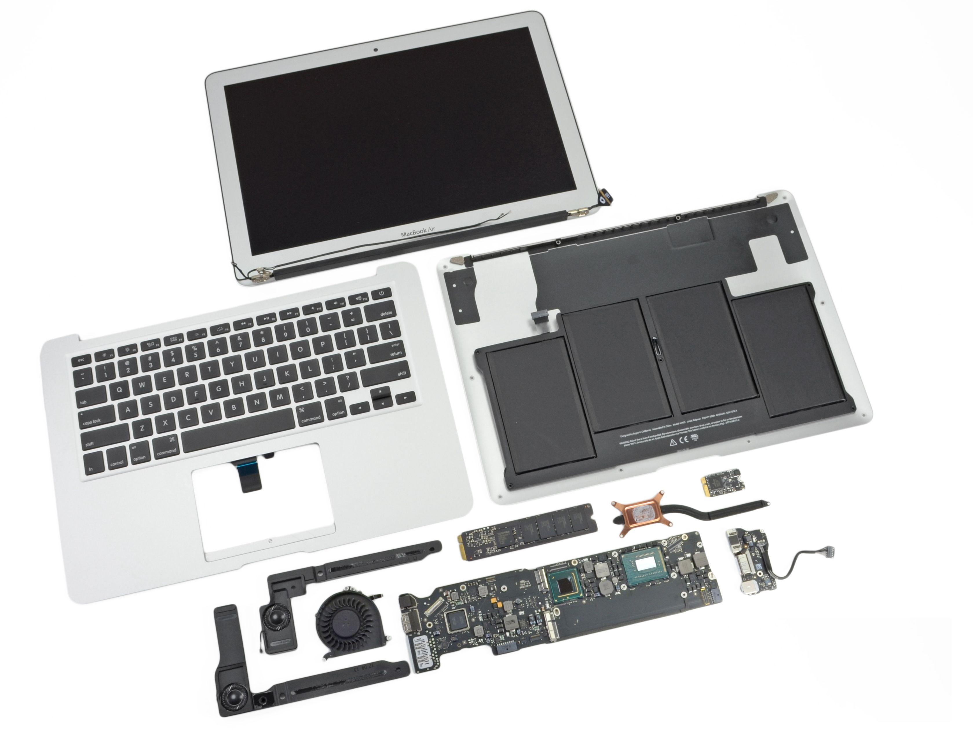 Macbook Air 13 A1466 não liga Macbook air, Macbook
