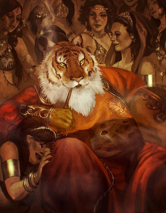 Rakshasa D Amp D Fantasy Art Fantasy Characters Fantasy border=
