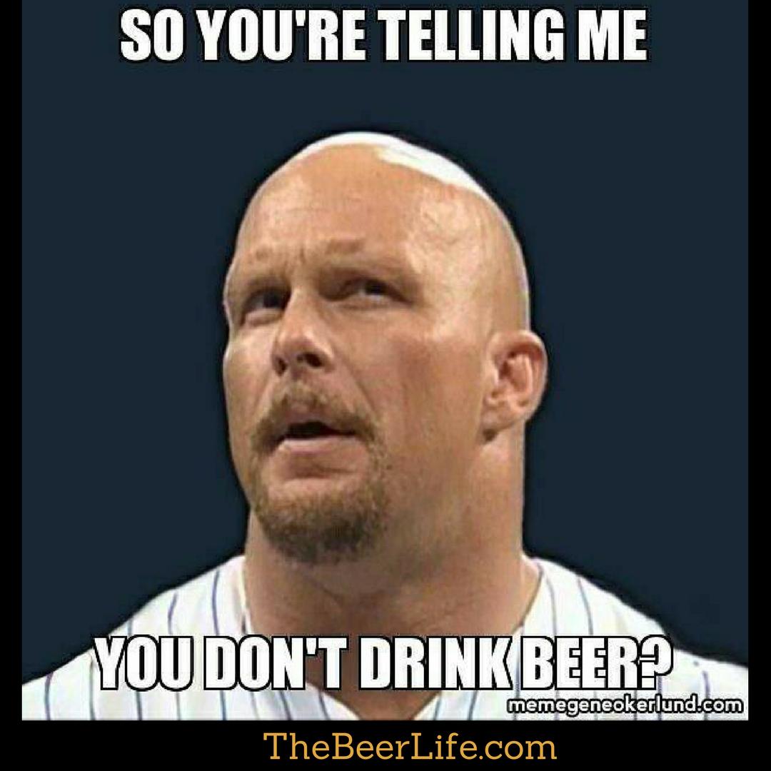 Really or just kidding? | Beer Memes | Beer memes, Beer ...