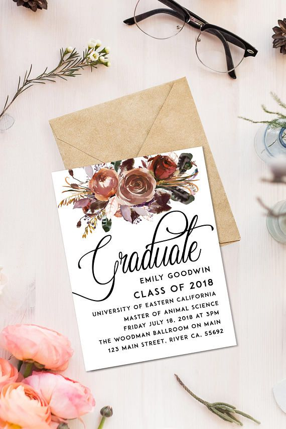 Graduation Invitations Ideas Homemade