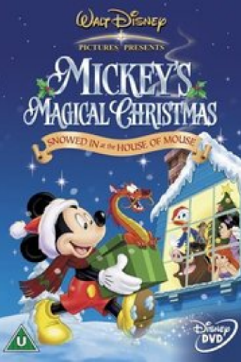 Mickey S Magical Christmas Snowed In At The House Of Mouse The Holy Mess Disney Christmas Holiday Cartoon Mickey