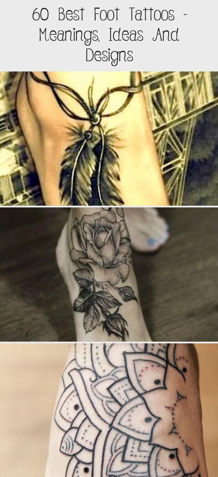Photo of Fuß Tattoo Bedeutungen, Symbolik, Designs und Ideen mit tollen Bildern. #tattoodes …