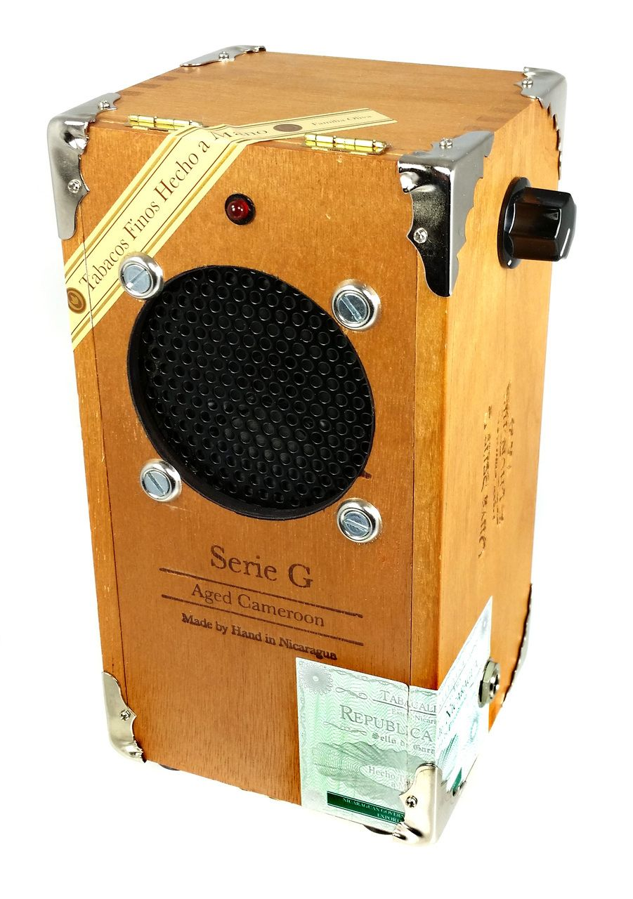 Cigar box guitar amplifier kit with all wood box pre wired leads cigar box guitar amplifier kit with all wood oliva g box pre wired solutioingenieria Image collections