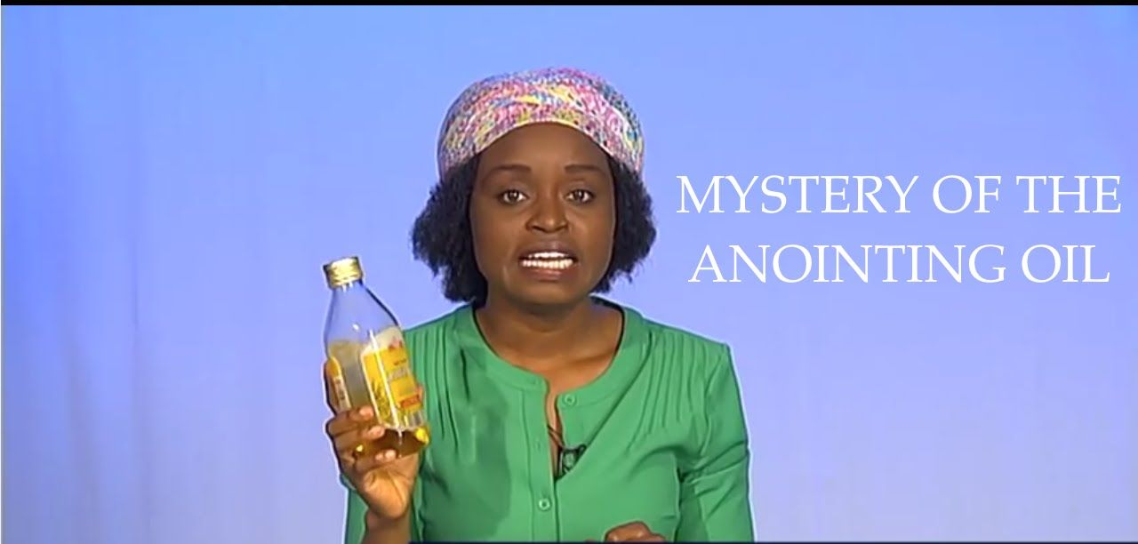 The Mystery of the Anointing Oil Why Anoint Forehead