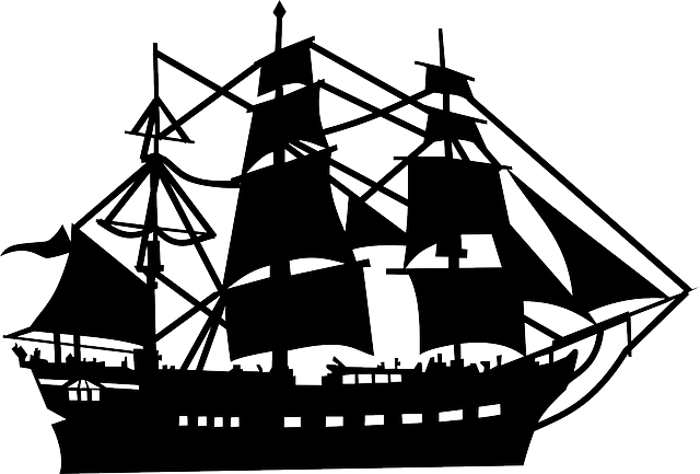 Sailer Boat Ship Silhouette Sailing Ship Pirate Ship Silhouette Boat Silhouette Sailing Ships