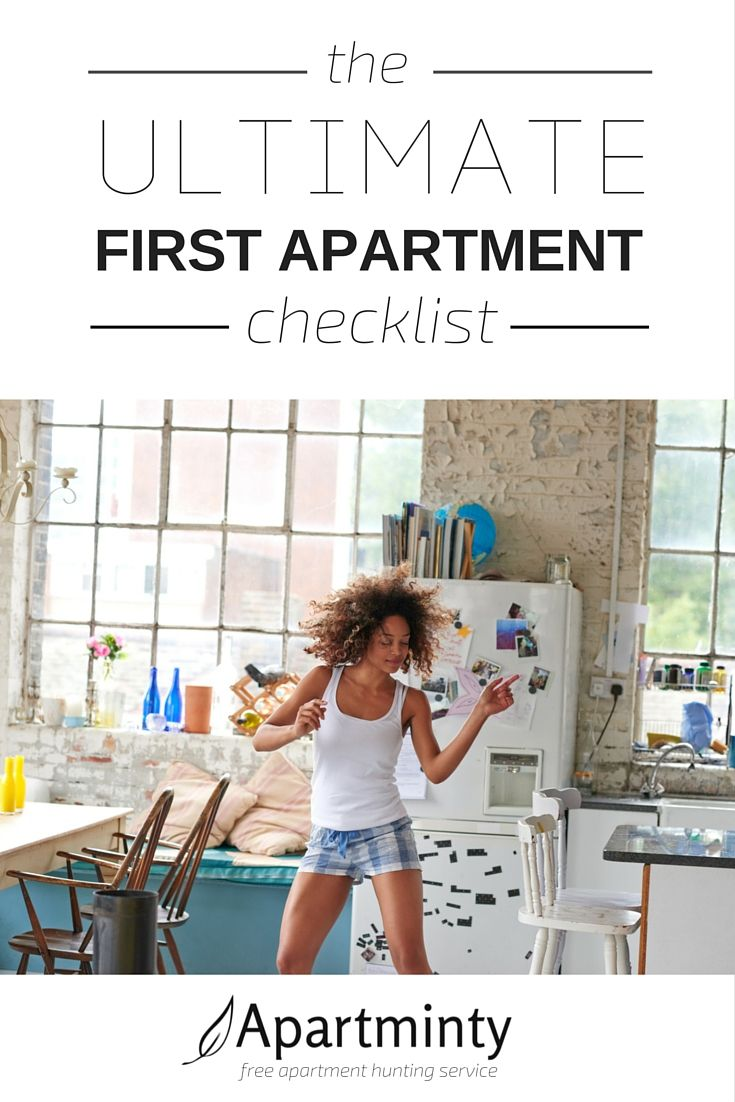A Checklist Of Everything You Need When Moving Into Your First Apartment Not Sure Where To Begin Click Get Free Now