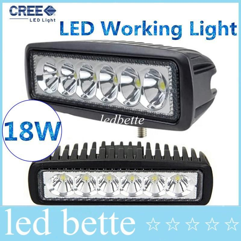 Modern Epacket LED Work Light Mini 6inch 18W UTV SUV ATV 4WD Boat Truck Tractor 4x4 Accessories Modern - led light accessories Plan