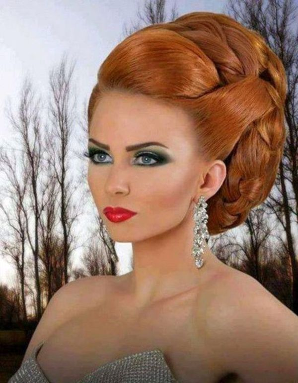 85 Stunning Bouffant Updo Hairstyles For This Christmas Updo