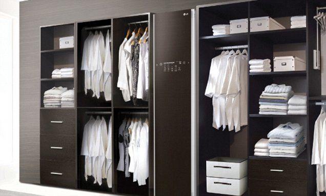 The 2 000 Hi Tech Closet That Can Dry Clean Your Clothes Closet Designs Smart Closet Bedroom Cupboard Designs