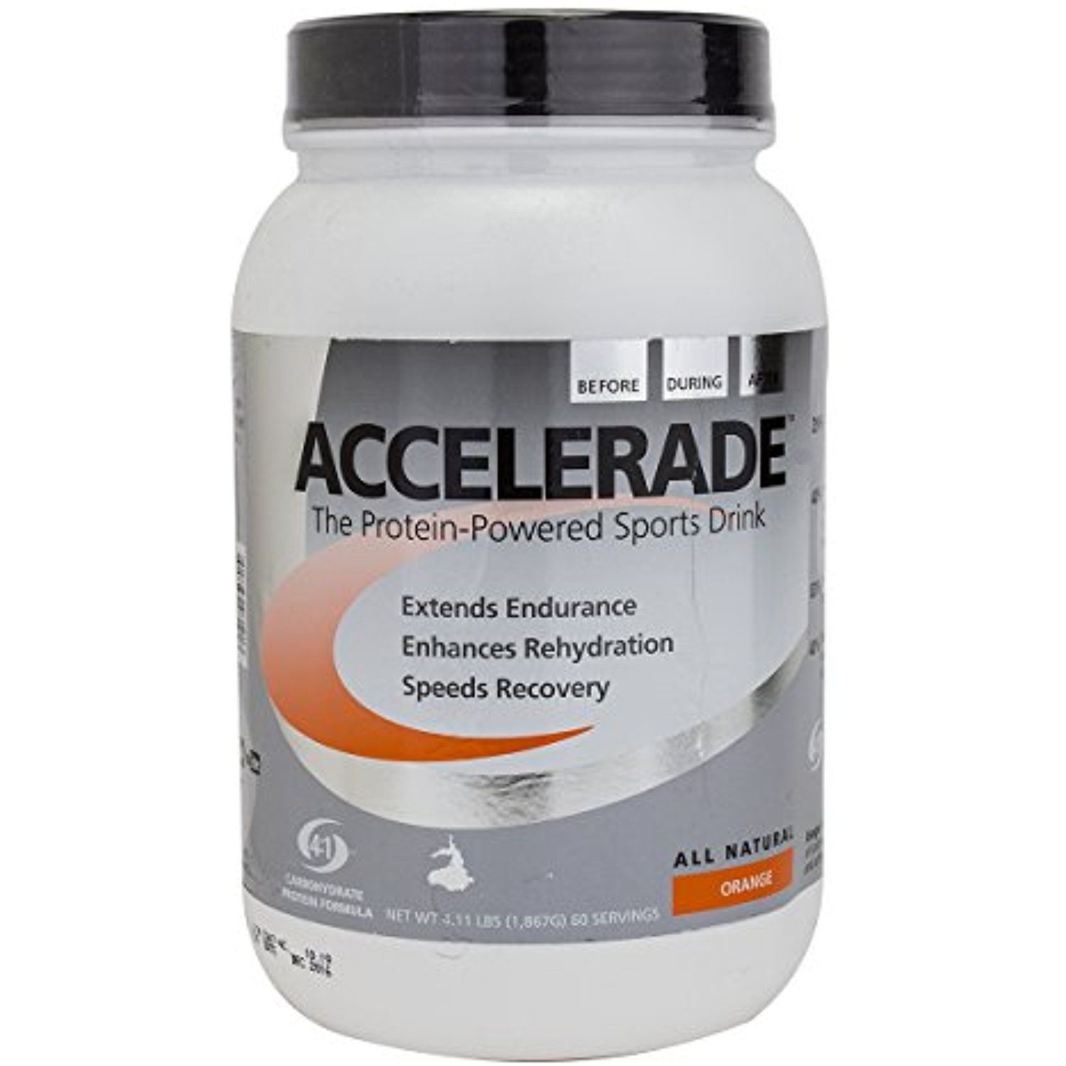 Accelerade All Natural ProteinPowered Sports Drink Mix