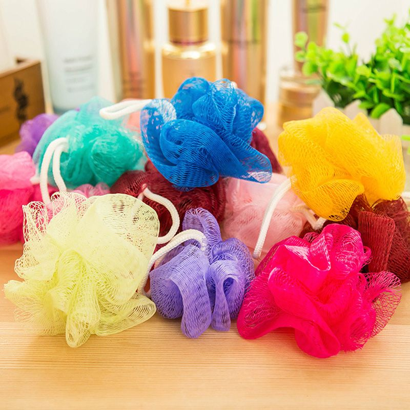 Piece Bath Ball Tubs Cool Ball Bath Towel Scrubber Body Cleaning - Supplies for cleaning bathroom