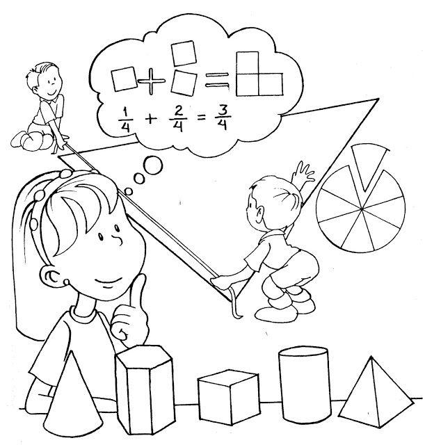 dibujos de matematicas para colorear e imprimir   Buscar con