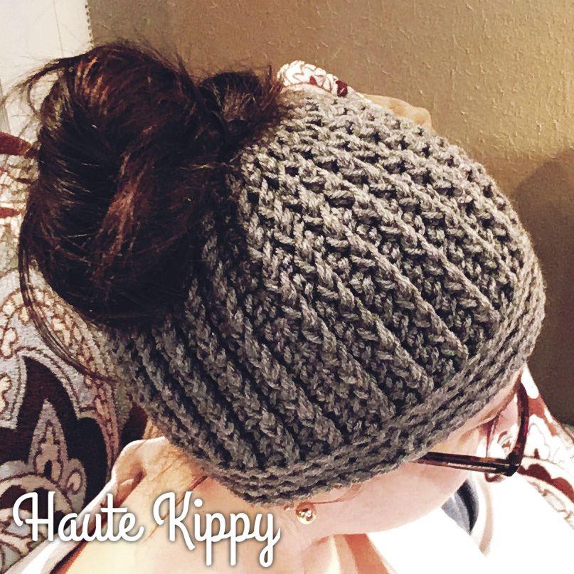 Gina Messy Bun Hat