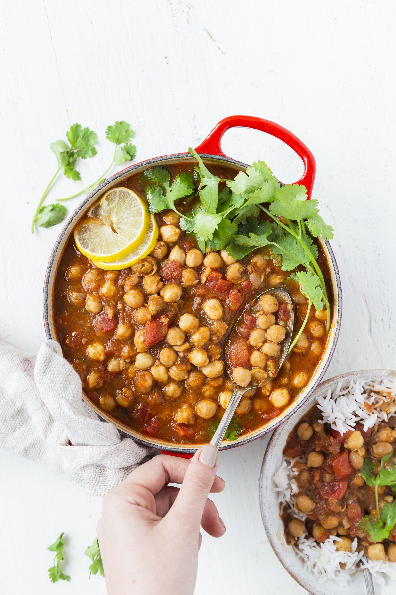 Instant Pot Chana Masala recipe by Editors  | The Feedfeed