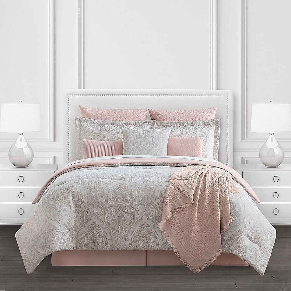 Alicia 10 Piece Comforter Set Bed Bath Beyond Comforter Sets Full Comforter Sets King Comforter Sets