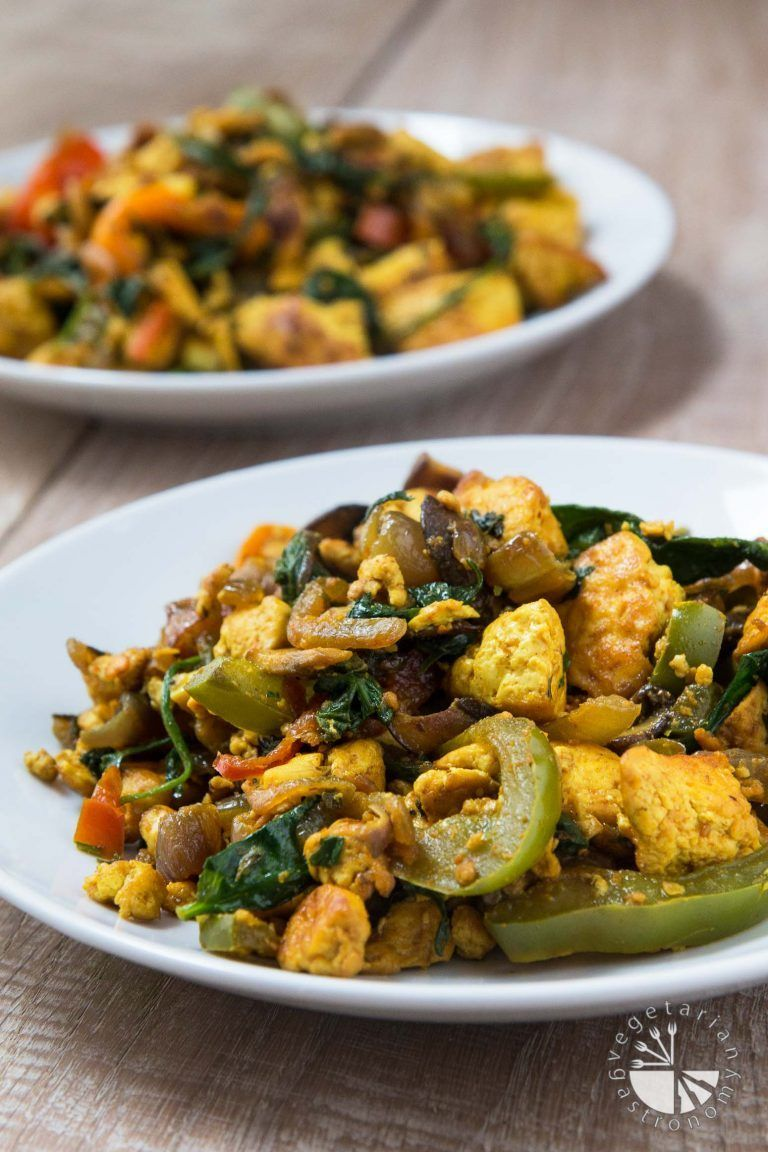 21 Low Carb Vegan Recipes That Will Fill You Up Scrambled Tofu