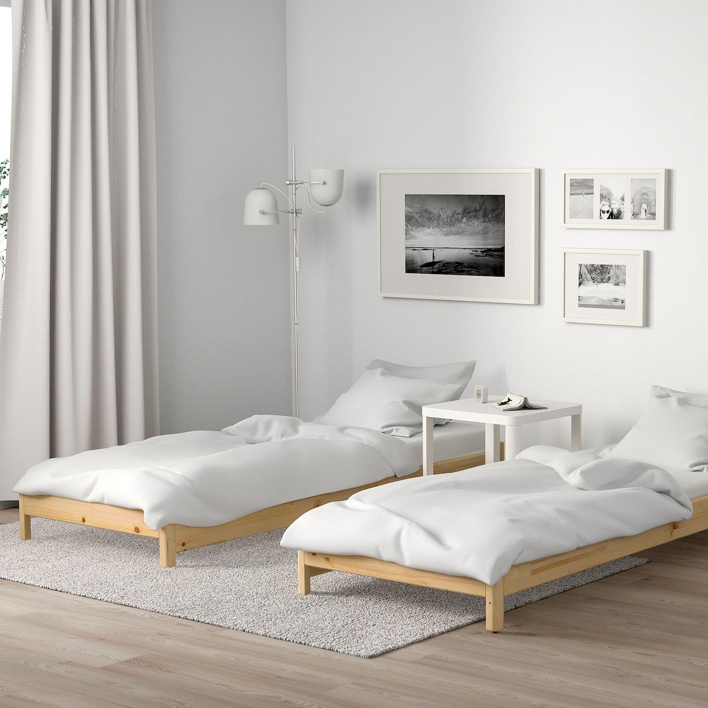 Mobel Einrichtungsideen Fur Dein Zuhause 2019 Ein Schlafzimmer Mit Malm Bettgestell Niedrig Eich Oak Bedroom Bedroom Furnishings Discount Bedroom Furniture