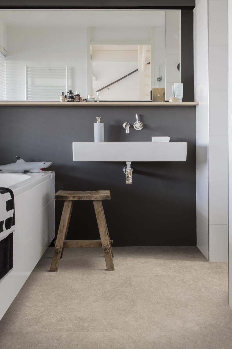 PVC vloer badkamer, vloer inspiratie, houtenvloer eiken, PVC vloer ...