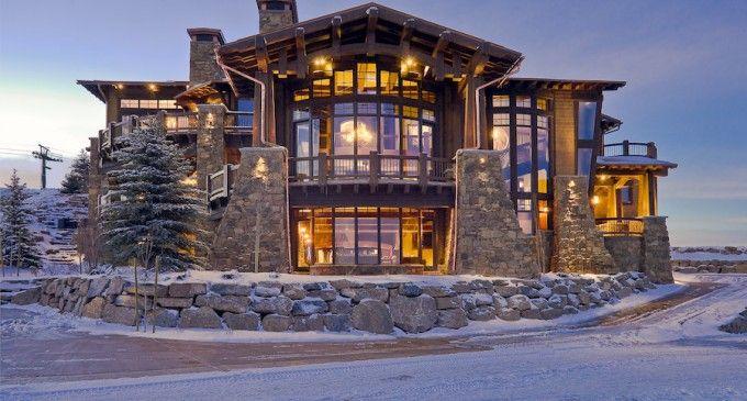 Ski Magazine Dream Home 21 900 000 Luxury Homes Dream Houses Dream House Exterior Beautiful Homes