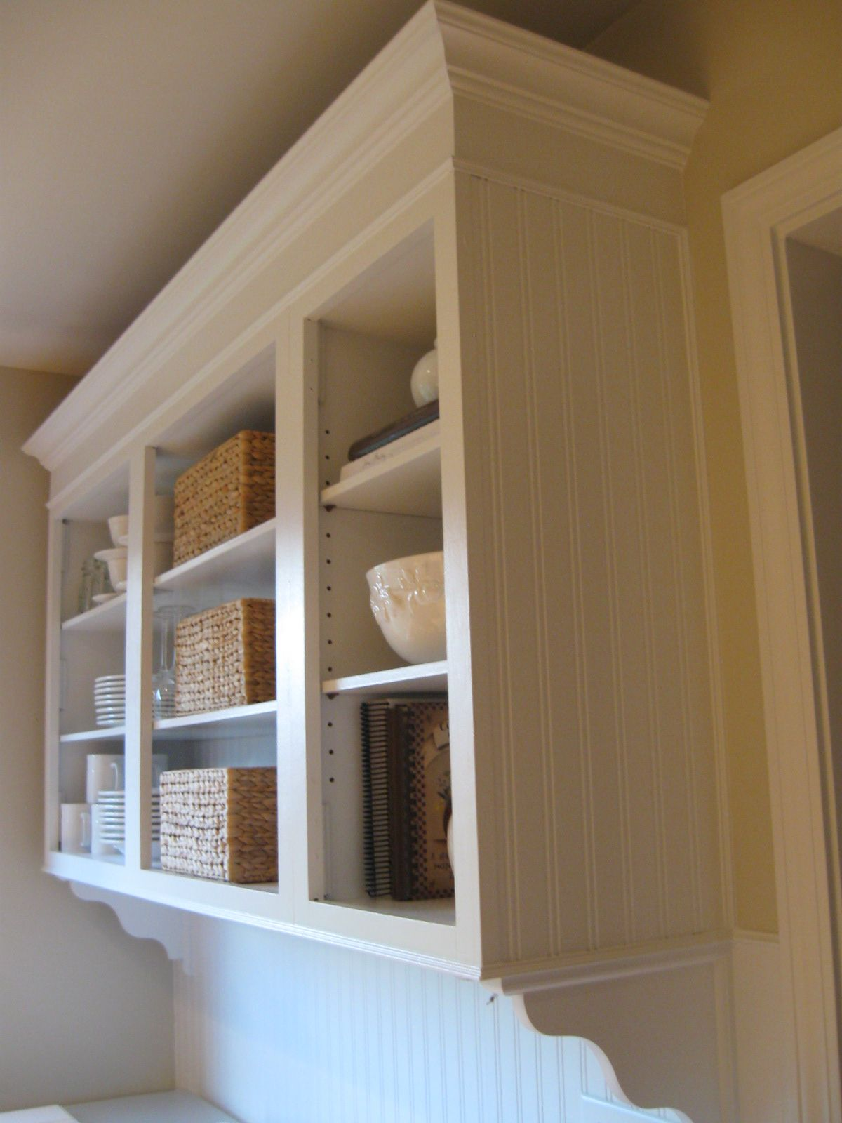 Beadboard On Cabinets Kitchen Cabinet Crown Molding Crown Molding Kitchen Beadboard Kitchen