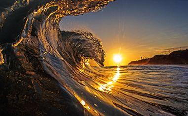 Fonds D Ecran Coucher Du Soleil Vagues Mer Flot Paysage Nature Papier Peint Coucher De Soleil Beau Coucher De Soleil Les Fleurs Du Mal