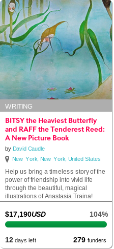 BITSY the Heaviest Butterfly and RAFF the Tenderest Reed: A New Picture Book   Indiegogo   A Funny Bunny Picture
