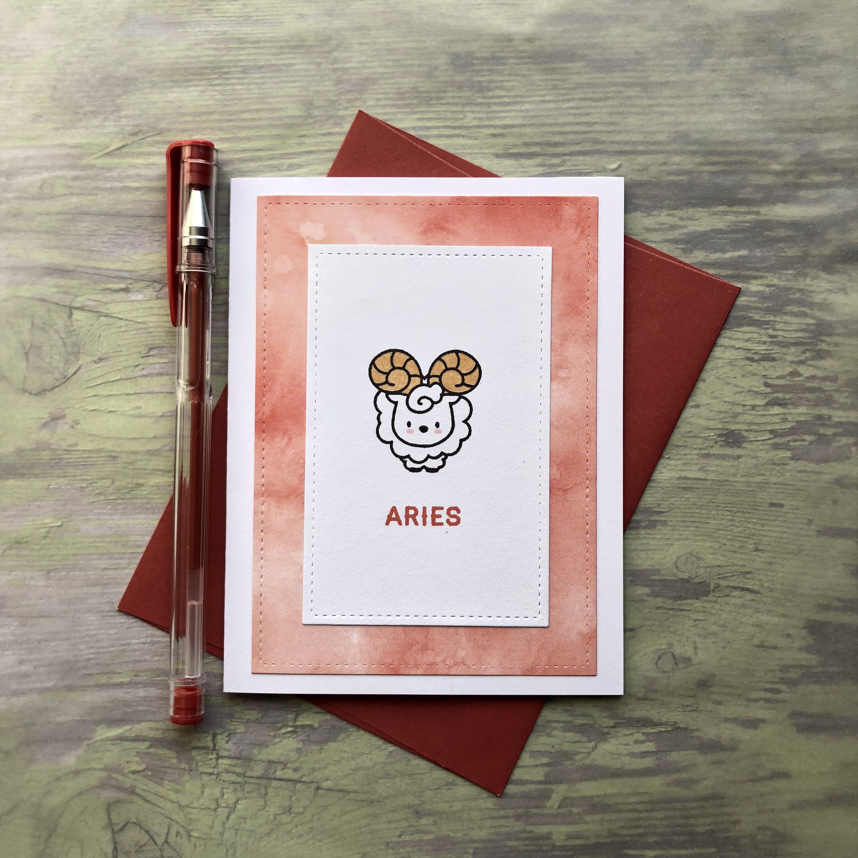 Aries Birthday Card A Personal Favorite From My Etsy Shop Https