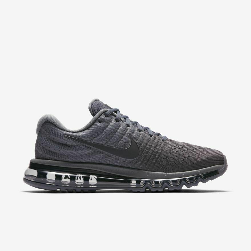 c3e4211d6e Nike Air Max 2017 Cool Grey Anthracite Dark Grey 849559-008 Men's Running  Shoes#Cool#Grey#Anthracite