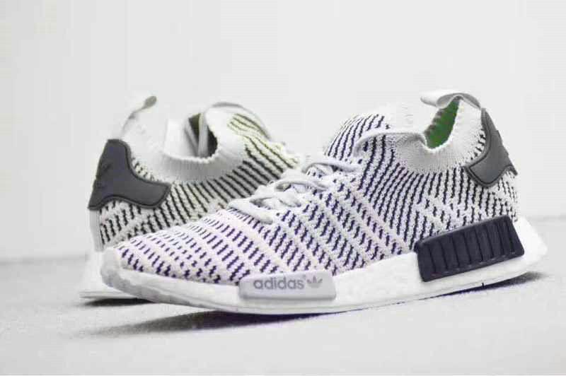 cef00a29dea0f Cheap Priced Men Adidas NMD R1 PK 2018 BSF Boost Lilac Grey Green Black  Lilac Grey