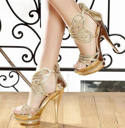 Fashion high #heel sandals