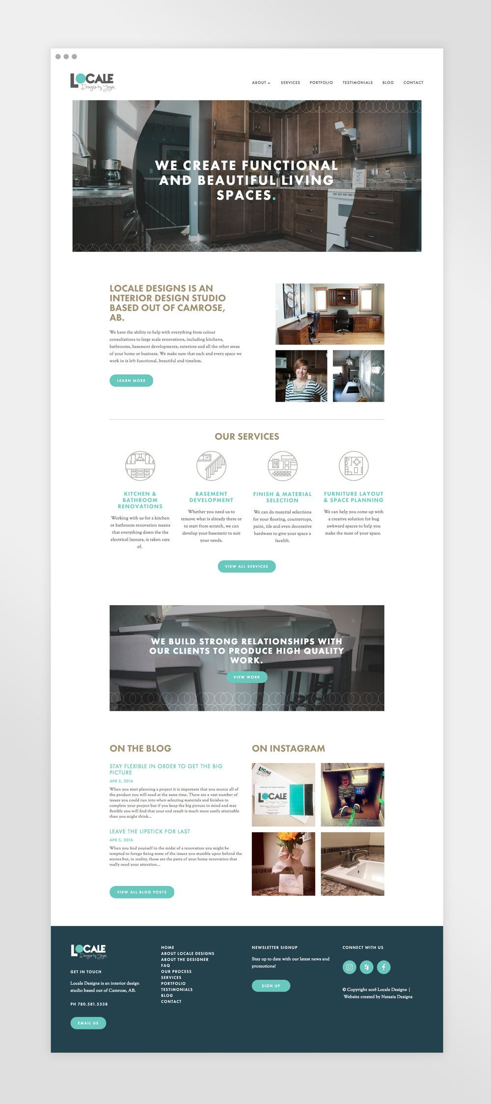 Locale Designs Website Design And Development Natasia Designs An Illustrator Graphic Designer And Web Web Design Quotes Online Web Design Web Design Tips