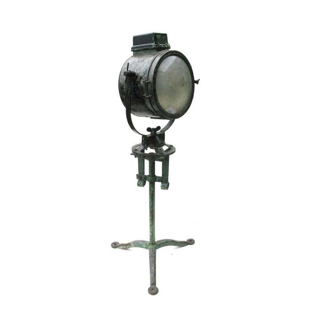 Naam: Zoeklicht Art. No: VIN-122 Materiaal: RSV/staal Hoogte: H175cm ...
