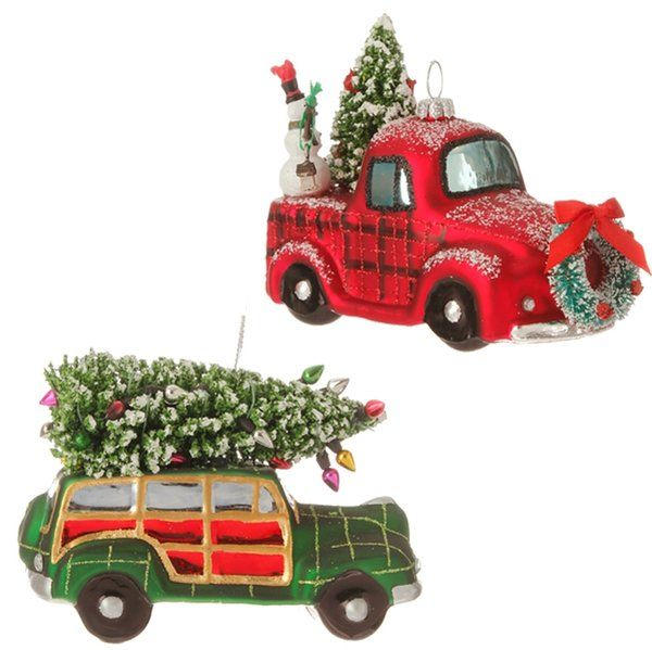 Vintage Automobile Christmas Ornament | Exclusively Christmas offers glass  ornaments and holiday decor. - Vintage Automobile Christmas Ornament Exclusively Christmas Offers