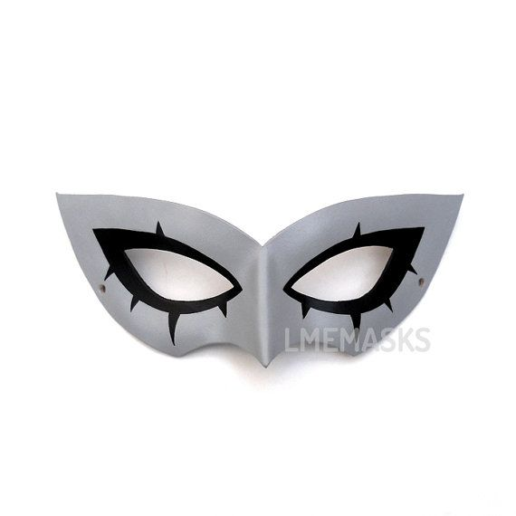 Persona 5 Joker Cosplay Eye Mask Costume Props Masquerade Party Prom Halloween